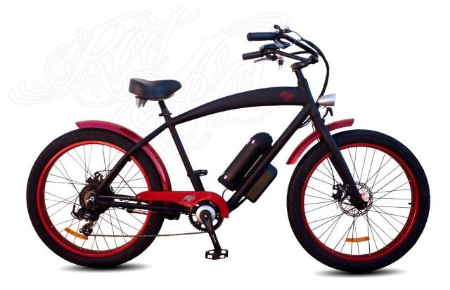 Vélo électrique Shelby vintage fat
