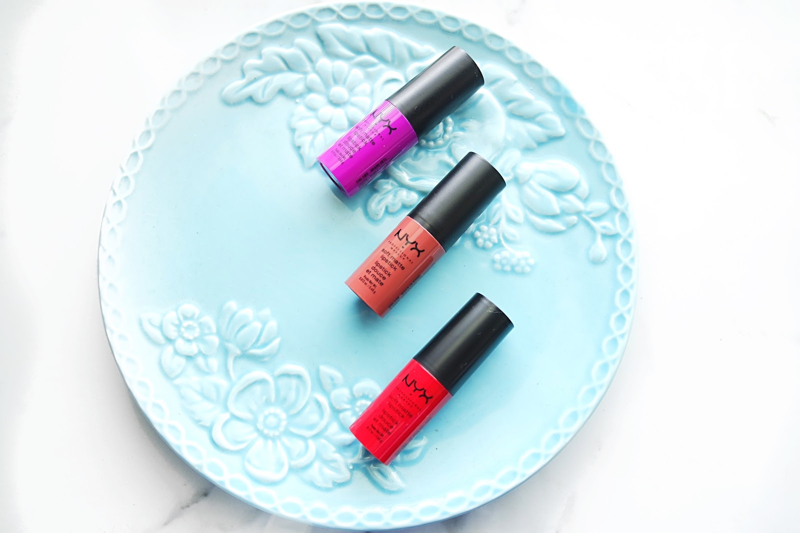 Nyx Soft Matte Lipsticks Review and Swatches