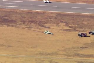 Dua Pesawat T-38 AS Kecelakaan