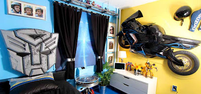Bedroom Decoration Motorcycle Bedroom Decor