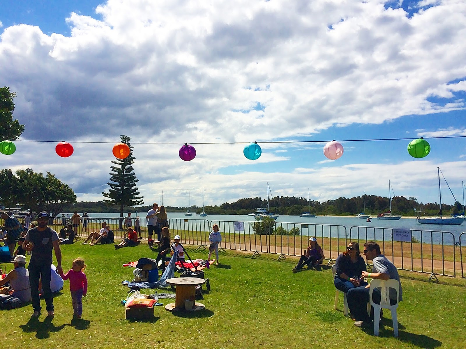Port Macquarie Beer and Cider Festival Lanterns by River