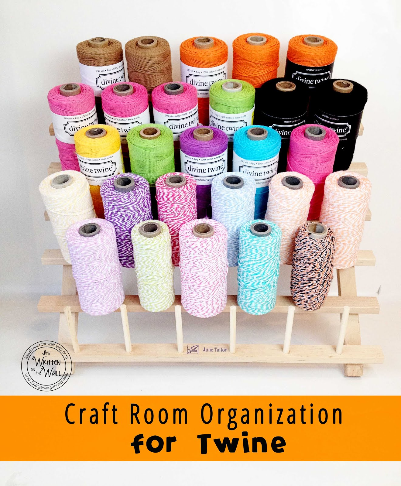 Craft Room Organization Tips-TWINE