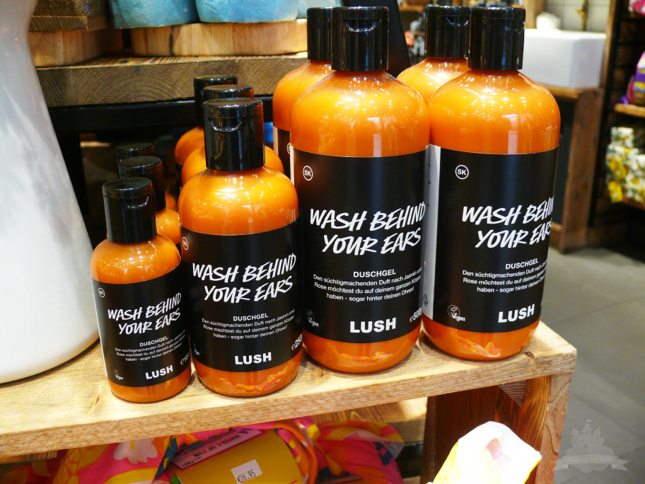 Lush Wash behind your ears