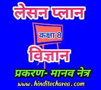 BEd science lesson plan in Hindi