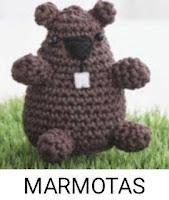 PATRONES MARMOTAS AMIGURUMI