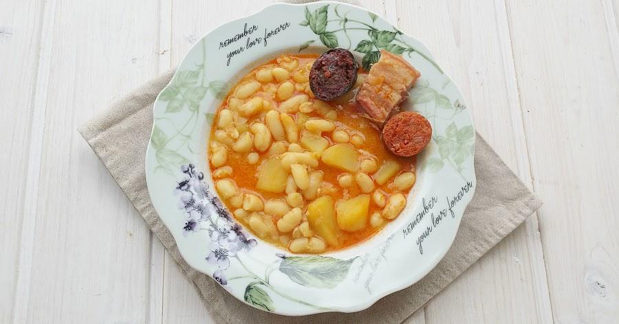 Fabada asturiana no sin mi taper for Como cocinar fabada asturiana
