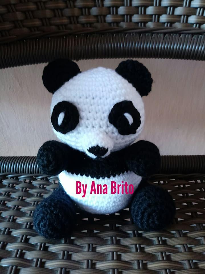 Urso Panda | Urso panda, Urso de crochê, Animais feitos de meias | 960x720