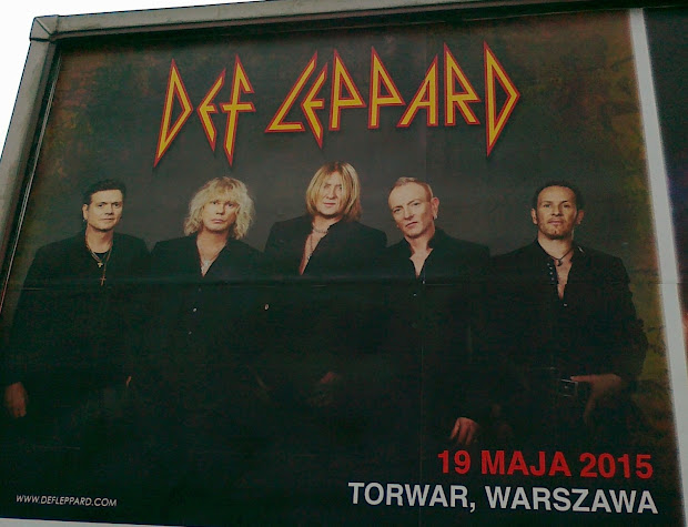 Pat Papertown 2 Def Leppard Concert Poster In Warsaw