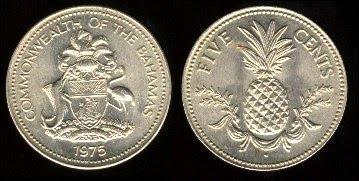 Bahamas 5 Cents (1974+)