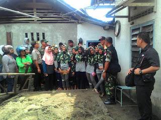 Dandim Kediri Dan Tim PVMBG Berikan Pernyataan resmi Terkait Sumur Ambles