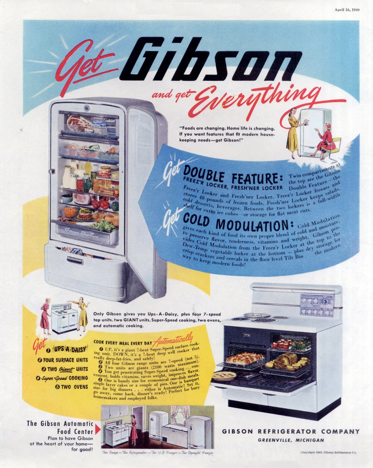 The Visual Primer of Advertising Cliches : Get Gibson and