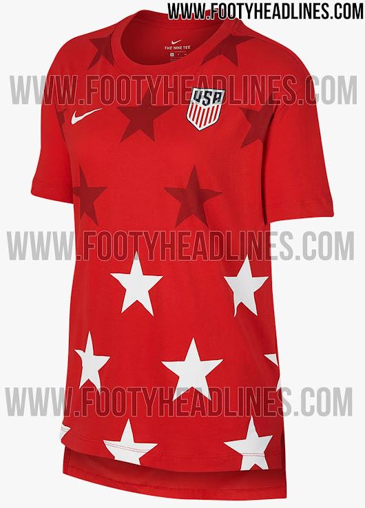 5abf6ecff Nike USA 2017 Gold Cup Shirts Leaked - Footy Headlines