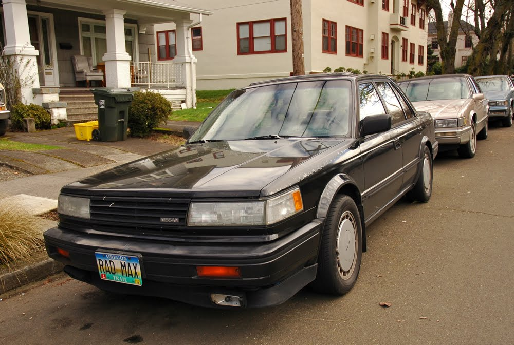 old parked cars saturday bonus 1988 nissan maxima. Black Bedroom Furniture Sets. Home Design Ideas