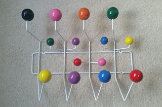 Gumball Multicoloured Wall Mount Coat Rack
