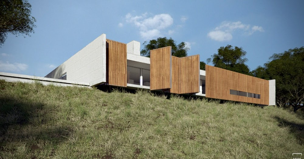 Casa en el valle est dio mrgb blog y arquitectura - Casas en el valles occidental ...