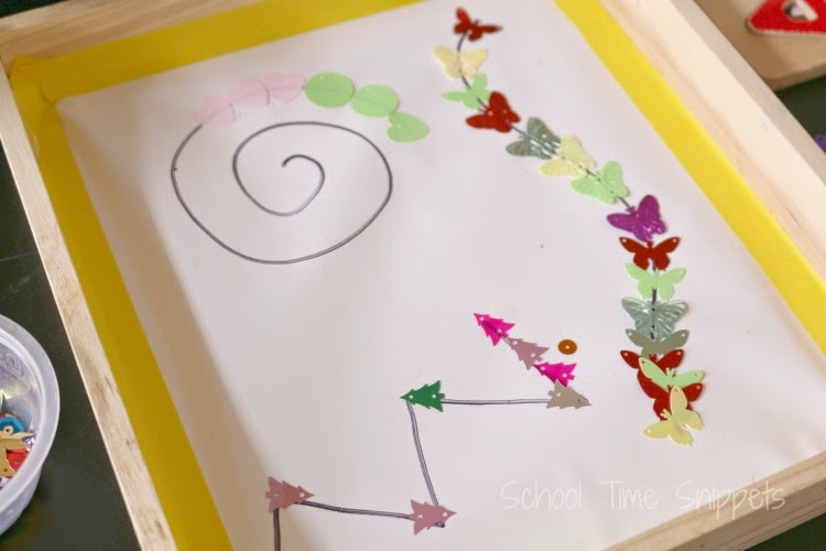 preschool pre writing fine motor skills activity
