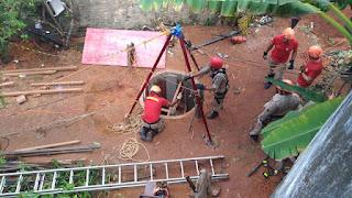 Encontrado corpo de homem que ficou soterrado durante trabalho em poço na PB