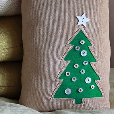 Tutorial: Tall Tree Pillow | The Inspired Wren