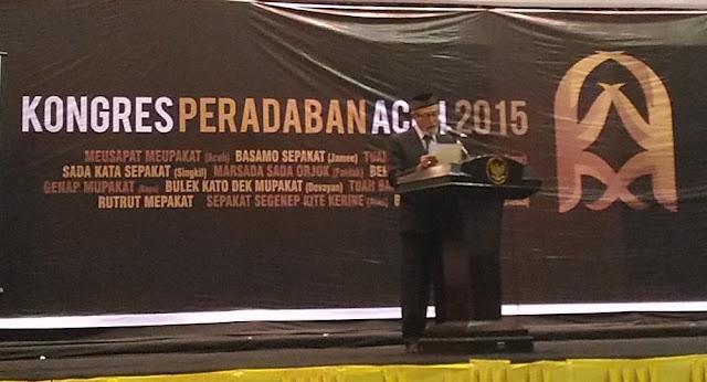 Wali Nanggroe Aceh Terbitkan SARAKATA Peradaban Bahasa Daerah