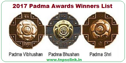 padma awards 2017 winners