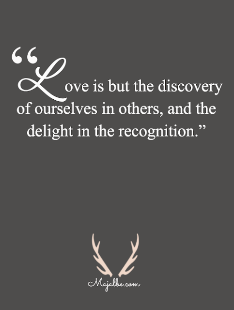 Love Is Discovery Love Quotes
