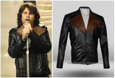 Gambar Jaket Kulit Jim Morrison The Doors