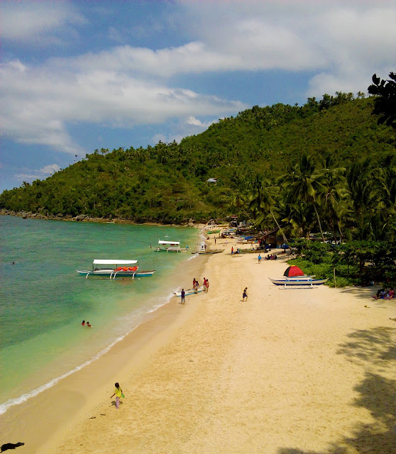 white beach in cebu