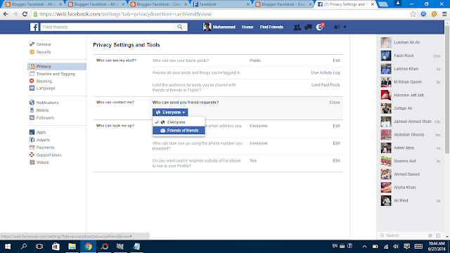 Facebook Privacy Settings 12