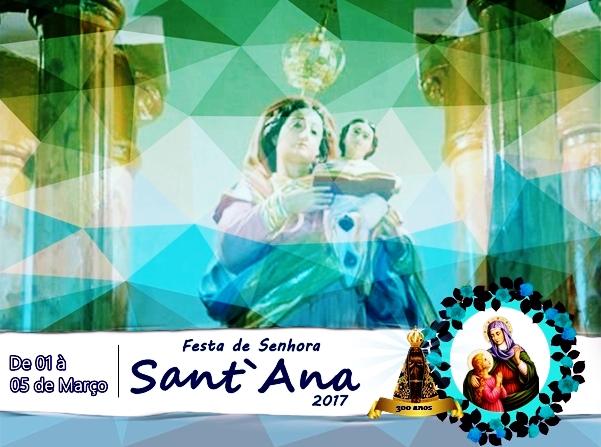 Vila de Santana se prepara para festeja a sua padroeira Senhora Santa Ana.
