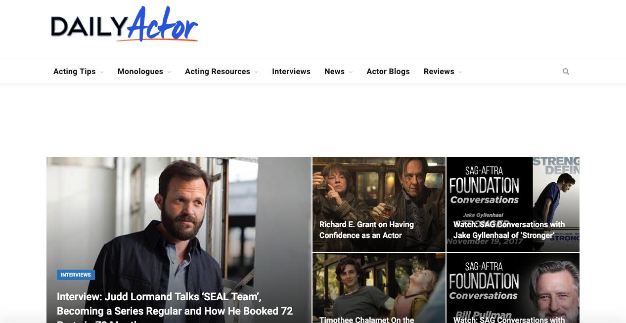 Link Excellent Actor Blog