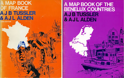 Tussler and Alden Mapbook of France Benelux Countries