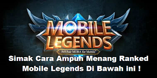 Cara solo rank menang Mobile Legends