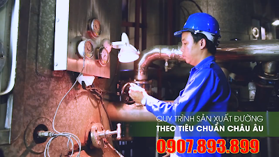 Quy trình sản xuất nước Miaqua
