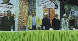 مؤتمر جماهيرى بقرية قرقطان بنقادة لدعم التعديلات الدستورية