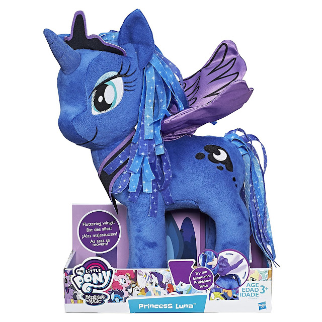 2017 My Little Pony Plushie Luna