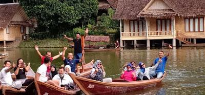 Perjalanan Wisata Dinas Pasar Bululawang, Malang Ke Kampung Sampireun Garut 2019