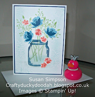 Stampin' Up! Susan Simpson Independent Stampin' Up! Demonstrator, Craftyduckydoodah!, Jar of Love, Everyday Jars Framelits, Touches of Texture, Supplies available 24/7,