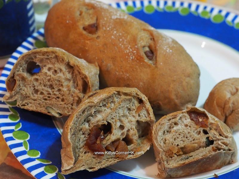 Longan Pumpkin Seeds Bread DIY recipe 桂圓南瓜子麵包 自家烘焙食譜
