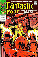 Fantastic Four v1 #81 marvel 1960s silver age comic book cover art by Jack Kirby