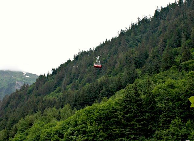 Mount Roberts Tram in Juneau, Alaska