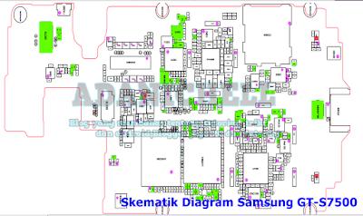 Skematik Diagram Samsung GT-S7500