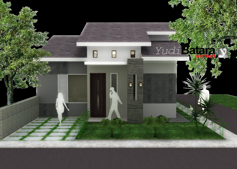 Desain Rumah Minimalis 1 Lantai Tampak Depan - Gambar Foto