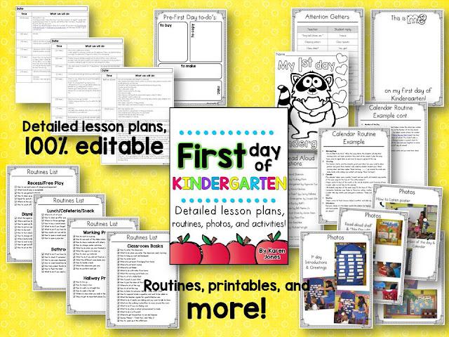 Routines, Routines, Routines! - Mrs. Jones's Kindergarten