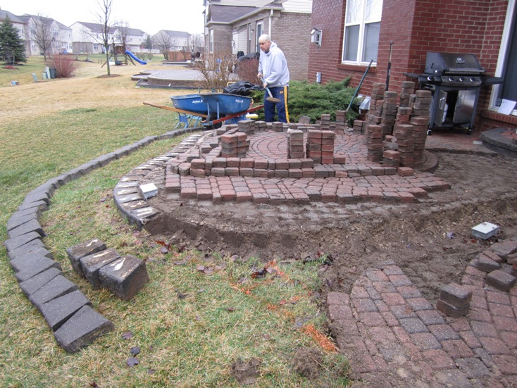 Brick Paver Patio Repair U0026 Redesign In Canton, MI