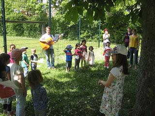 Muttertagsfeier mit Musikeinlage