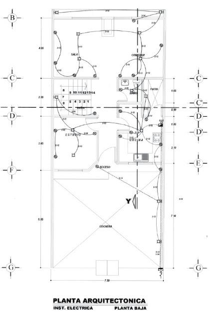 Instalaciones electricas residenciales - plano de la instalacion electrica