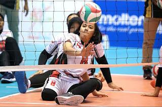 Nina Gusmita Atlet Voli Termuda Di Ajang Asian Para Games 2018