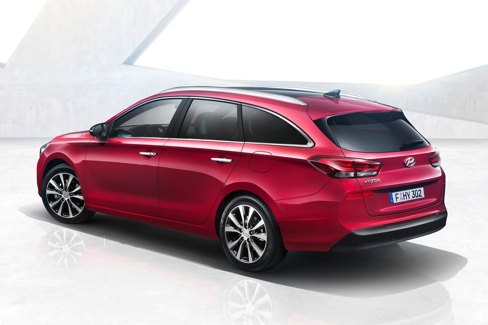 Hyundai I30 Wagon Tanıtıldı Sekiz Silindir