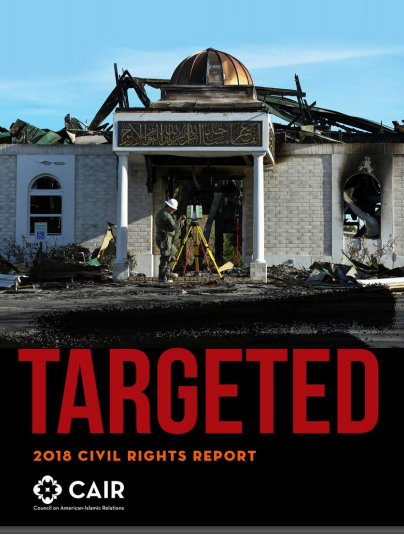 "Earlier this year, CAIR released its 2018 Civil Rights Report, ""Targeted,"" which showed a 17 percent increase in bias-motivated incidents against American Muslims from 2016 to 2017, and a 15 percent increase in the number of anti-Muslim hate crimes in that same time period."