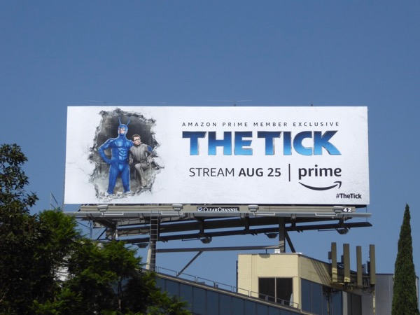 Tick amazon billboard